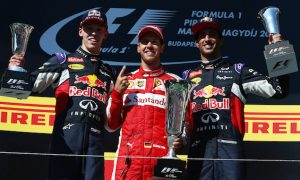 'Hard to judge' if Kvyat or Vettel is quicker - Ricciardo