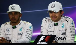Rosberg 'complains about a lot of things' - Hamilton