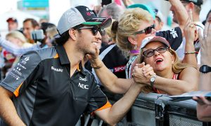 Perez wary of Haas threat to Force India in 2016