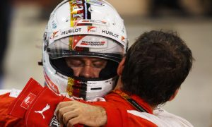 Vettel thanks Ferrari for 'fantastic' first year