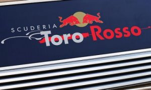 Toro Rosso running in full swing