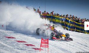 Red Bull faces £23k fine for Verstappen snow stunt