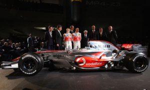 Launching McLaren's last title-winner