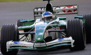 Fernando in a Jaguar