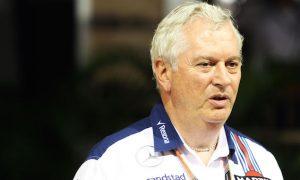 Symonds 'very pleased' with progress of 2016 Williams