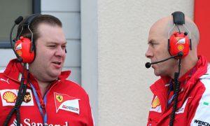 Scene at the Pirelli wet tyre test