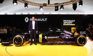 Renault livery will change for 2016