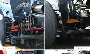 A closer look at the McLaren-Honda MP4-31