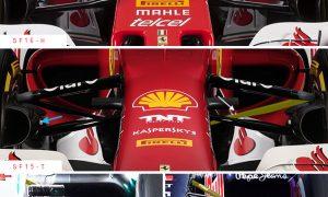 A closer look at the Ferrari SF16-H
