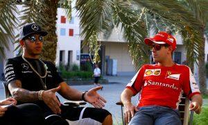Hamilton hits back at Vettel remarks over Mercedes dominance