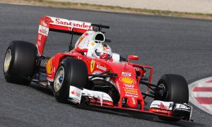 Vettel tops opening day as Mercedes racks up mileage