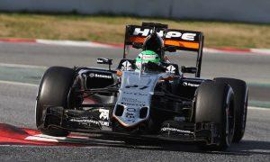 Hulkenberg heads Grosjean on third day of test