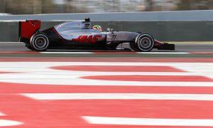 Electronics problems halt Haas on Thursday