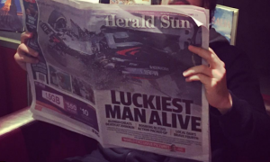 Just checking the latest F1 news...
