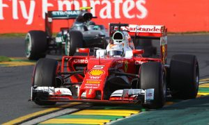 Ferrari confident of Vettel win before red flag