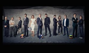 Channel 4 reveals F1 line-up