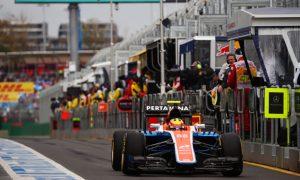 Haryanto explains pit lane crash