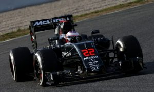 Button looking for step forward at Sakhir
