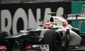 Checo's maiden F1 podium