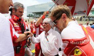 Ecclestone 'hoping upon hope' Ferrari challenges Mercedes
