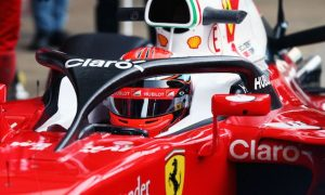 Ferrari debuts Halo cockpit protection in testing