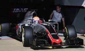 Grosjean praises 'amazing job' from Haas