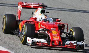 Vettel ensures Ferrari ends testing on top