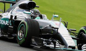 Rosberg takes blame for FP2 crash