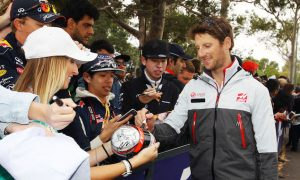 Grosjean wins first Driver of the Day award