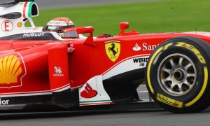 Raikkonen not worried by gap with Mercedes