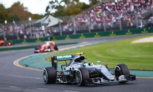 Rosberg beats Hamilton after huge Alonso crash
