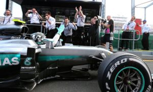 Rosberg not getting carried away with winning run