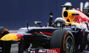 En route to his fourth F1 title