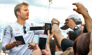 One race at a time for championship leader Rosberg
