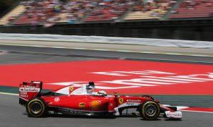 Ferrari has not slipped back in development - Vettel