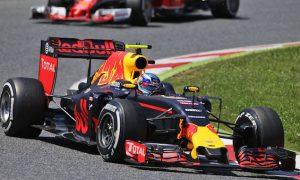 Verstappen takes stunning first win as Mercedes collide