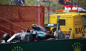 No further action from stewards over Mercedes clash