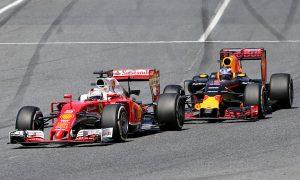 Cooler Vettel says Ricciardo battle was 'fun'
