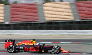 Verstappen sets pace on second day of test