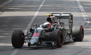 Button 'lucky' to escape injury from drain cover
