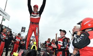 Bourdais wins first Detroit Indycar double-header