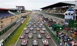 Le Mans dress rehearsal