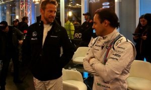 Massa 'zero scared' about rumors of Button return to Williams