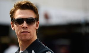 Frustrated Kvyat attempting to address future