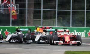 Ferrari finding solace in closer gap to Mercedes