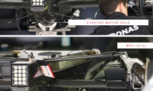 Under the skin of the Mercedes W07