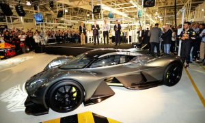 Red Bull and Aston Martin unveil AM-RB 001