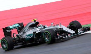 Rosberg downplays early edge over Hamilton