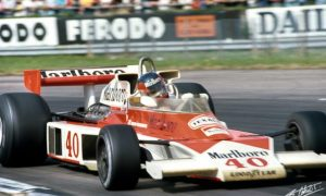 The F1 debut of Gilles