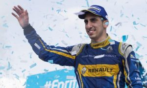 Buemi clinches Formula E title after clash with di Grassi